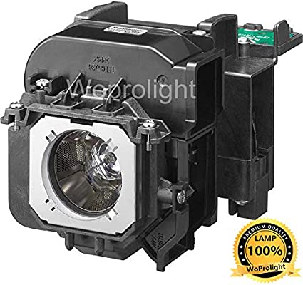 Powered by Ushio AuraBeam Professional Replacement Projector Lamp for Panasonic ET-LAD55 with Housing