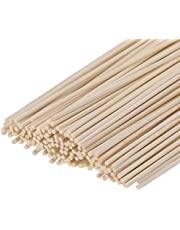 Set of 100 Reed Diffuser Sticks - Wood Rattan-Reed Sticks -Diffuser Glass Bottles-Diffuser Refills- Spa-Aromatherapy, by HOSSIAN … (7in(17cm))