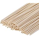 "HOSSIAN Set of 100 Reed Diffuser Sticks -Reed diffusers-Reed Sticks -Diffuser Glass Bottles-Diffuser Refills- Natural Rattan Wood Replacement for Aroma Fragrance ((7""17cm))"