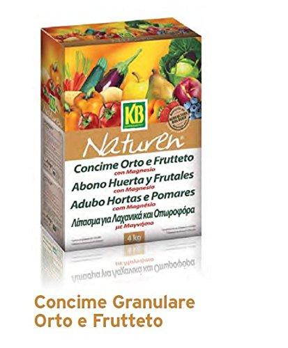 ITAL AGRO CONCIME GRANULARE 1, 5 KG ORTO E FRUTTETO CONCIME PER AGRICOLTURA BIOLOGICA DI ORIGINE NATURALE