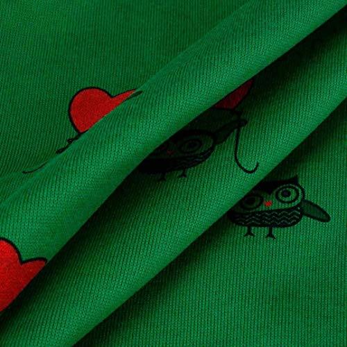 Tendance Jumper Mignons Grün À Modèles Automne Élégant Longues Printemps Casual Manches Top Femmes Hauts Sweatshirt Col Streetwear Sweats Rond Mode nqZWavfcH