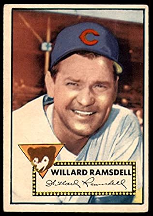 Amazoncom 1952 Topps 114 Willard Ramsdell Chicago Cubs
