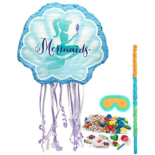 BirthdayExpress Mermaids Under The Sea Party Supplies - Pinata Kit]()