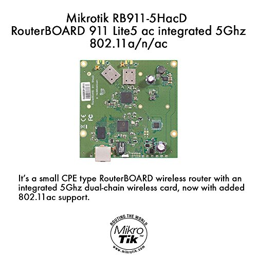 Mikrotik Metal 52 Ac Outdoor Wireless Ap 802.11ac RBMetalG-52SHPacn-US by Mikrotik