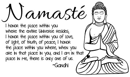 Image result for namaste i honor the place in you