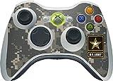 xbox 360 camo wireless controller - US Army Xbox 360 Wireless Controller Skin - US Army Logo on Digital Camo Vinyl Decal Skin For Your Xbox 360 Wireless Controller