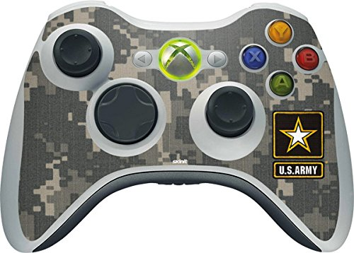 US Army Xbox 360 Wireless Controller Skin - US Army Logo on Digital Camo Vinyl Decal Skin For Your Xbox 360 Wireless Controller ()