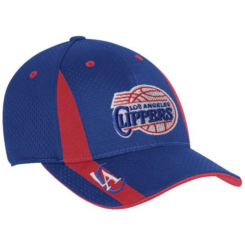 Adidas Los Angeles ClippersロイヤルブルーSwingman Flex Fit Hat (Small/Medium)   B002R9E8ZA