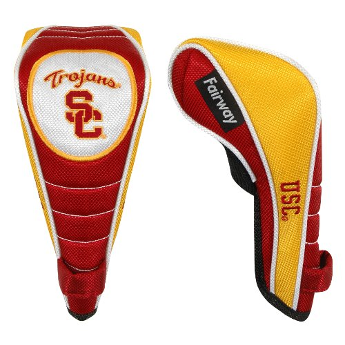 (Team Effort USC Trojans Shaft Gripper Fairway Headcover)
