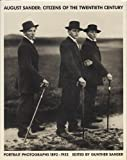 img - for August Sander: Citizens of the 20th Century: Portrait Photographs 1892-1952 book / textbook / text book