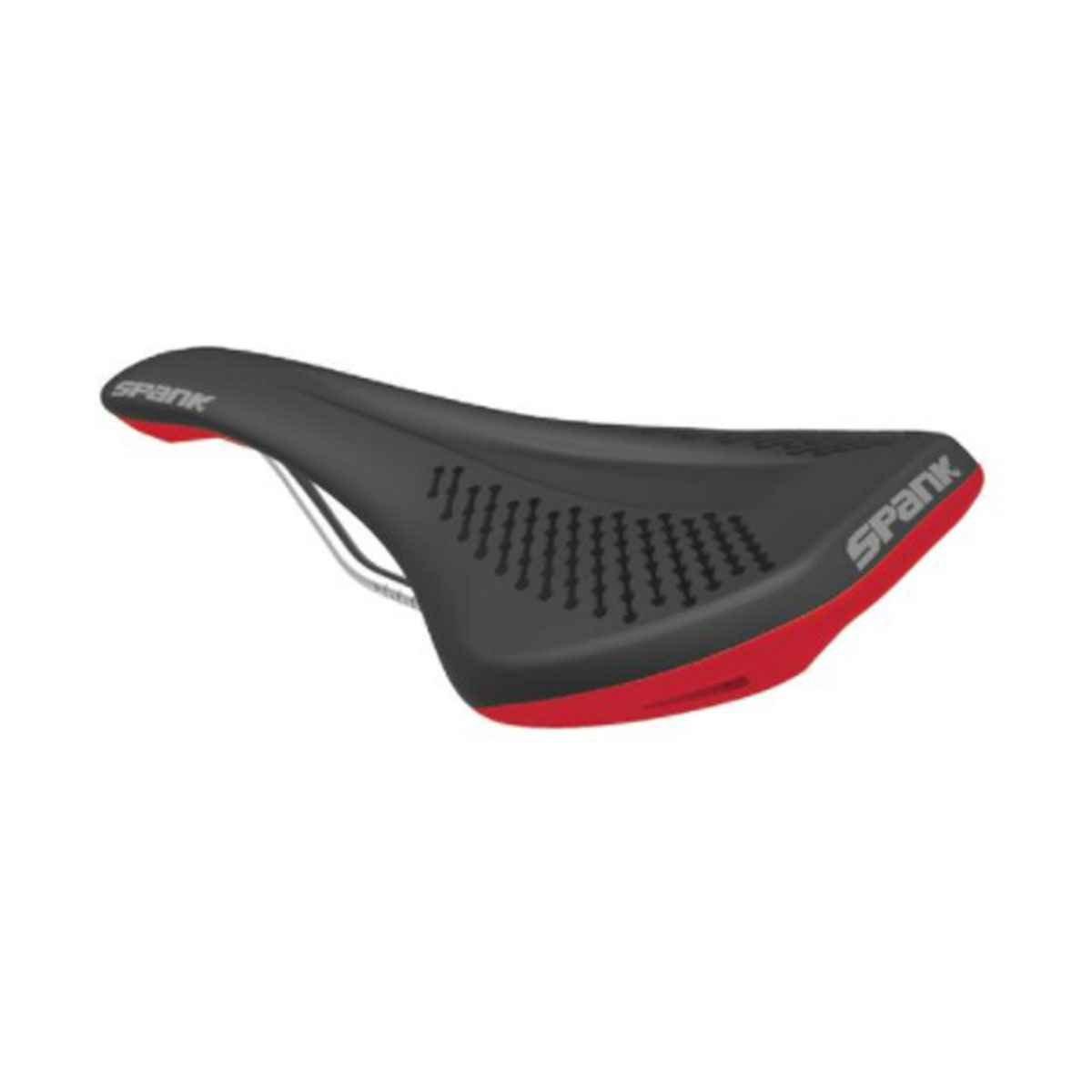 Spank Oozy Fahrradsattel unisex erwachsene, schwarz/rot