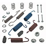 ACDelco 18K565 Professional Rear Drum Brake Spring Kit with Springs, Pins, Retainers, Washers, and Caps