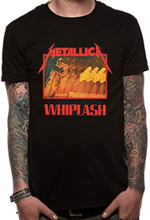 I-D-C Metallica-Whiplash Camiseta para Hombre: Amazon.es: Ropa y accesorios