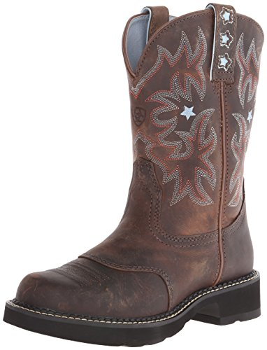 Ariat Women's Probaby Western Cowboy Boot, Driftwood Brown, 8.5 B US (Gypsy Boots Cowgirl)