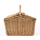 Picnic Time Piccadilly Willow Picnic Basket for Two