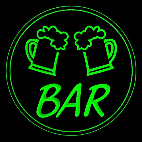 P-tm-b Name Personalized Custom Home Bar Beer Neon Light