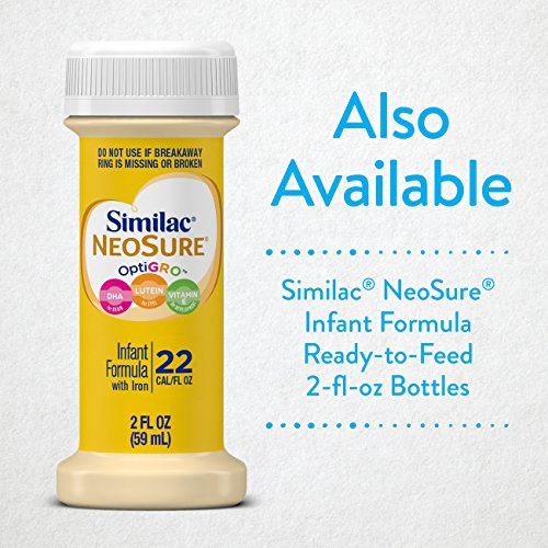 Similac NeoSure Infant Formula with Iron, For Babies Born Prematurely, Powder, 13.1 ounces (Pack of 6) by Similac (Image #9)