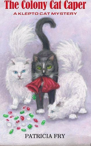 book cover of The Colony Cat Caper