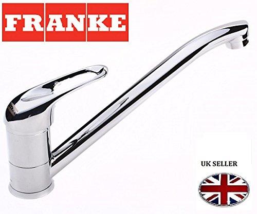 Franke Narew 35 Plus Küchen-/ Hochdruckarmatur Einhebelmischer aus massiven Edelstahl hartverchromt, 115.0352.331