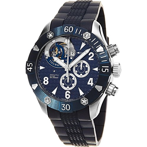 Zenith Defy Classic Sea Tourbillon Men's Automatic Watch 03-0529-4035-51-R674 (Men Watch Zenith)