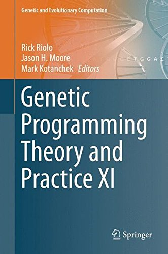 Genetic Programming Theory And Practice XI (Genetic And Evolutionary Computation)