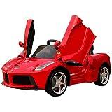 Duplay Licensed Ferrari LaFerrari 12v Kids Electric Ride On Sports Car