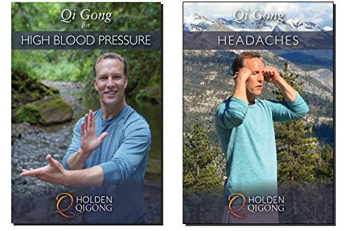 Bundle Lee Holden Qigong DVDs: Calming Qi Gong for Headaches and High Blood Pressure 2 DVD (YMAA) **BestSeller**