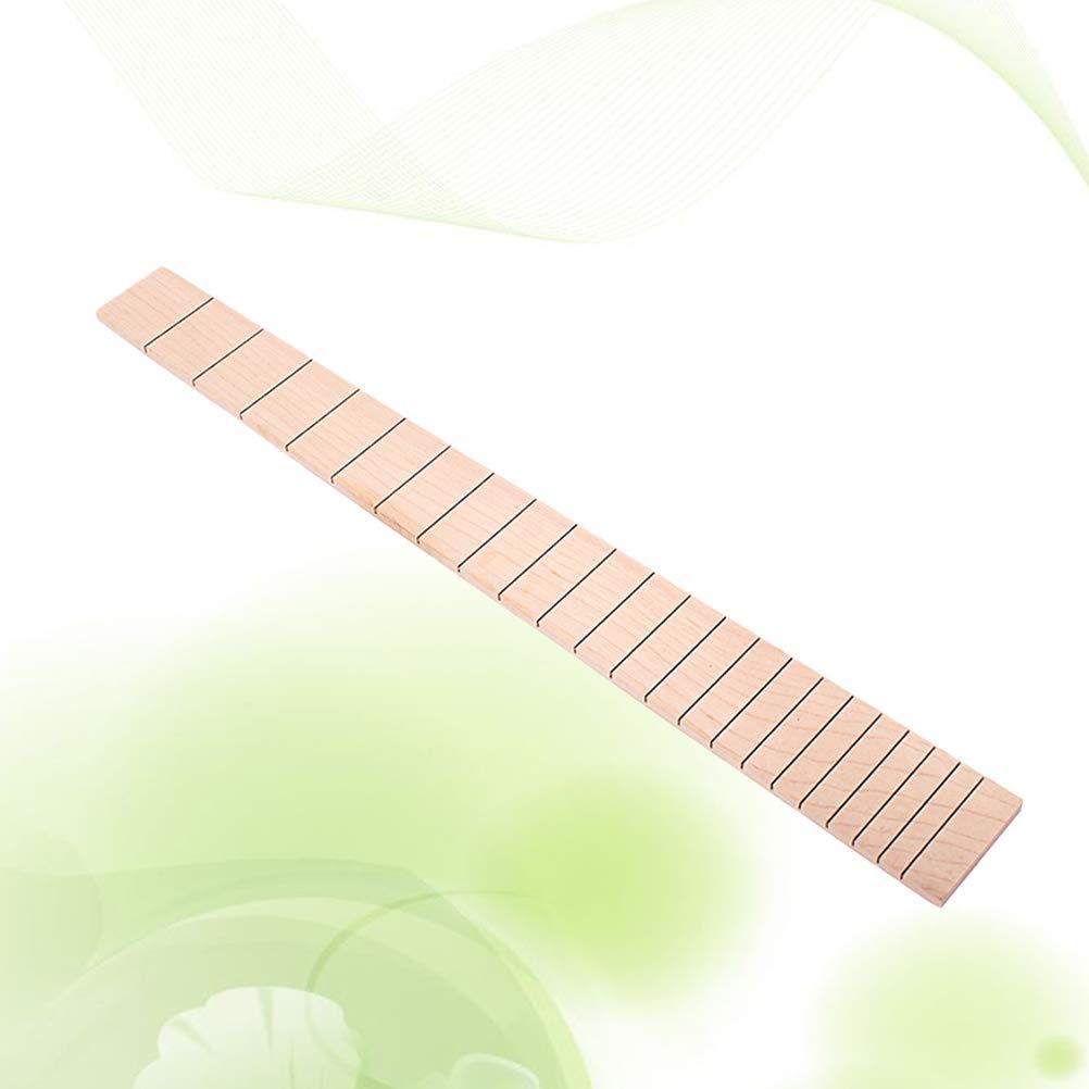 Gse01 Ukulele Fretboard Maple Fingerboard For Concert Ukulele Guitar Replacement Stringed Instruments