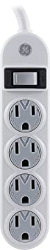 Review GE 14837 Power Strip,
