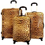 "Heys Luggage Leopard Exotic Spinners. (21"" Carry On D204)"