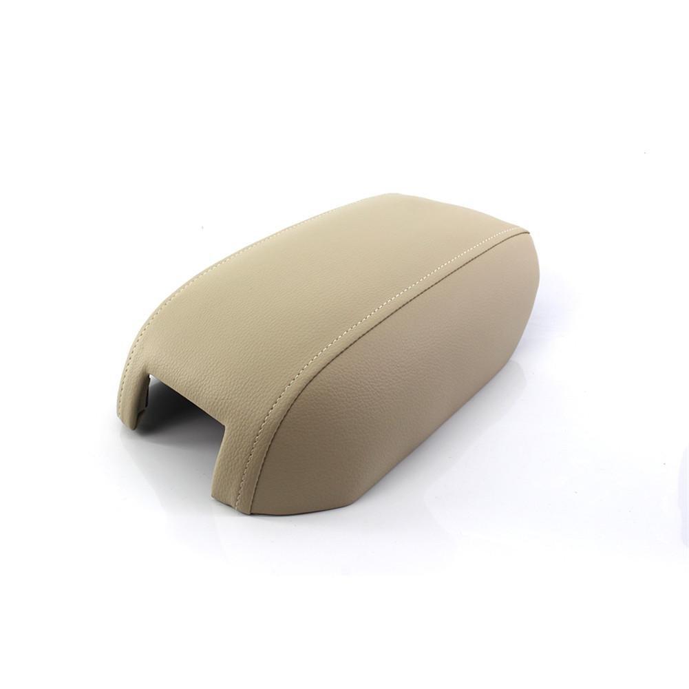 Explea Cubierta de la Caja del reposabrazos para la Consola Central de Cuero Artificial de Volvo Tapa de la Cubierta de la Tapa del reposabrazos para Volvo XC90 (03-14) Outstanding