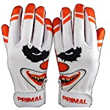 "Primal Baseball "" Crazy Clown Baseball Batting Gloves (Youth Small)"