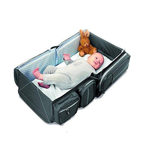 Ligero Bebé 2 En Viaje Bolsa Gris Chainging 1 Delta Y 1 De Peso Viaje nbsp;en Cuna Nuevo nbsp;ultra nbsp;bebé ApHaSx