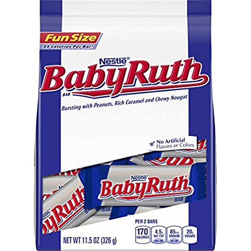 (Nestle Baby Ruth Bursting with Peanuts, Rich Caramel and Chewy Nougat, 11.5 Ounce (Pack of 2))