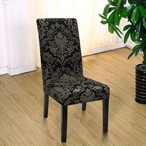 Yisun Modern Stretch Dining Chair Covers Removable