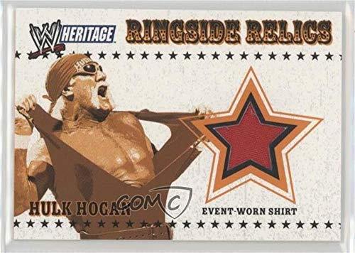 Hulk Hogan (Trading Card) 2005 Topps Heritage WWE - Ringside Relics #HUHO (Wwe Ringside Relics)