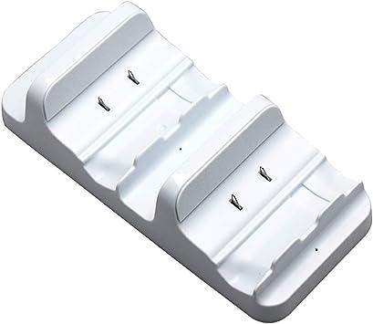 F-blue Para Microsoft Xbox One (S) sin Hilos del Juego de Doble Cargador de pie Estación de Carga del Muelle: Amazon.es: Electrónica