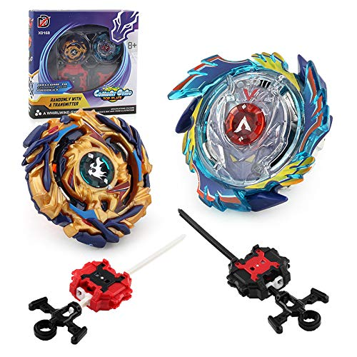 CHENGKETOYS Power Spinning Top Burst Valkyrie Drain Fafnir Battle Toy. High Performance Battling Set with Launchers and Arena - Spinning Tops Metal Fusion Beyblades Stadium Toys by CHENGKETOYS