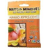 Matt's Munchies Organic Fruit Snack (1-Ounce Bag), Mango Apricot, 12 Pack by Matts Munchies