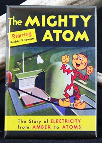 Reddy Kilowatt The Mighty Atom Refrigerator Magnet. ()