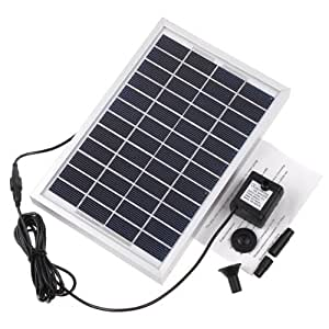 Amazon Com Rivenan 12v 5w Solar Pump Solar Power Panel