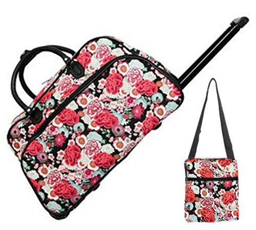 red-rose-floral-21-duffel-rolling-bag-set-rolling-bag-1-9-shoulder-messenger-bag