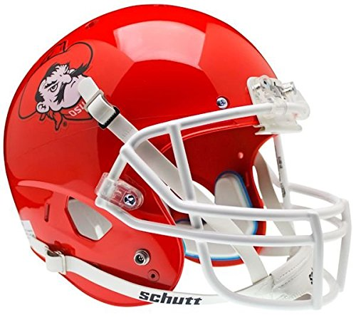 NCAA Oklahoma State Cowboys Replica XP Helmet - Alternate 5 (Pistol Pete Orange) by Schutt
