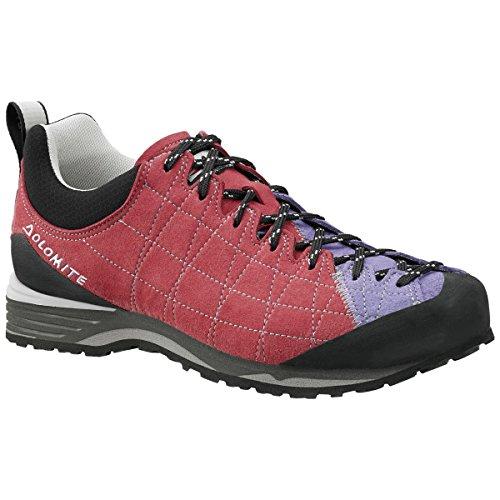 Dolomite - Zapatillas de senderismo de Material Sintético para hombre Begonia Red/Crocus Violet