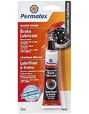 Permatex 24127 Silicone Ceramic Brake Lubricant, Orange, 28G