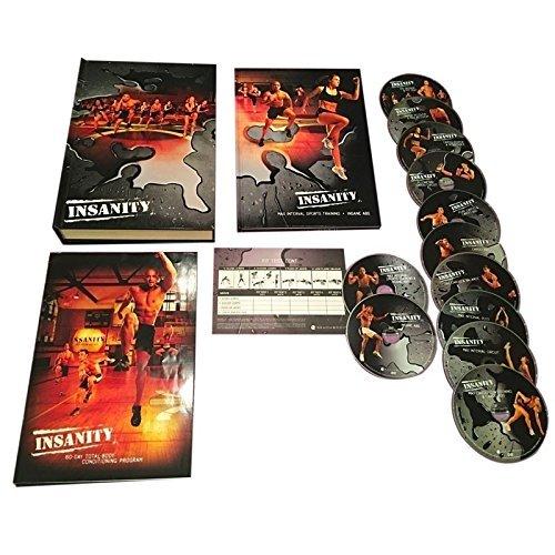 INSANITY 6O Day Base Kit + Bonus-14 DVD Complete Workout ()