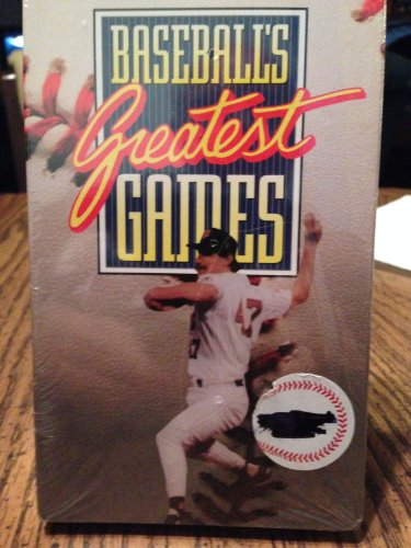 1991 World Series Game - Baseballs Greatest Games 1991 Series [VHS]