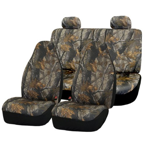 Amazon FH GROUP FB111114 Hunting Camouflage Car Seat Covers Airbag Compatible And Split Bench Automotive