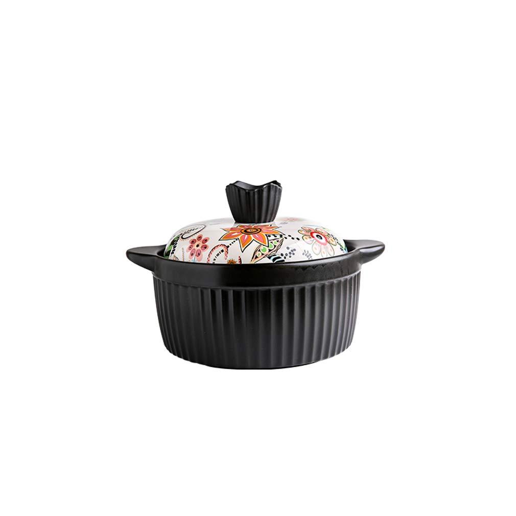 Ahorre hasta un 70% de descuento. 2.8L ZN-pot Cazuela Estofado Estofado Estofado Olla Hogar Resistencia a Altas temperaturas Ceramica Olla de Sopa Cocina Cazuela (tamaño  1.8L   1.3L   2.8L)  bienvenido a orden