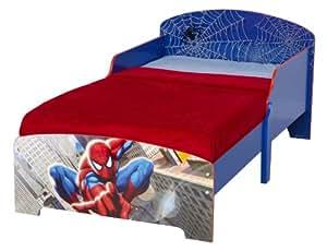 Worlds Apart 450SPR01EM - Cama de niño con diseño de Spiderman, 145 x 59 x 77 cm